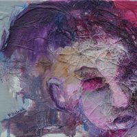 L'insoutenable légèreté, Priscille Deborah artiste peintre expressionniste sensualiste