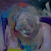 La paradoxale traversée, Priscille Deborah artiste peintre expressionniste sensualiste