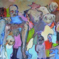 De beaux lendemains I, Priscille Deborah artiste peintre expressionniste sensualiste