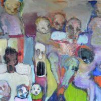De beaux lendemains II, Priscille Deborah artiste peintre expressionniste sensualiste