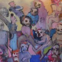 De beaux lendemains III, Priscille Deborah artiste peintre expressionniste sensualiste