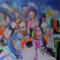 Esperanza, Priscille Deborah artiste peintre expressionniste sensualiste