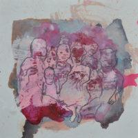 Métissage #III, Priscille Deborah artiste peintre expressionniste sensualiste