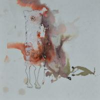 Métissage #IV, Priscille Deborah artiste peintre expressionniste sensualiste
