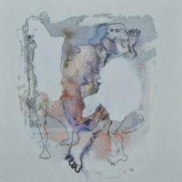 Métissage #V, Priscille Deborah artiste peintre expressionniste sensualiste