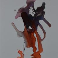 Vagabonde I, Priscille Deborah artiste peintre expressionniste sensualiste