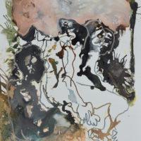 Vagabonde #I, Priscille Deborah artiste peintre expressionniste sensualiste