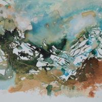 Vagabonde #VI, Priscille Deborah artiste peintre expressionniste sensualiste