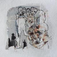Métissage #IX, Priscille Deborah artiste peintre expressionniste sensualiste