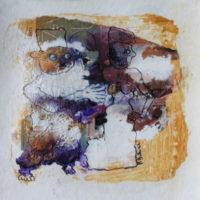 Métissage #XI, Priscille Deborah artiste peintre expressionniste sensualiste