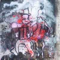 Les petites fissures #XIX, Priscille Deborah artiste peintre expressionniste sensualiste