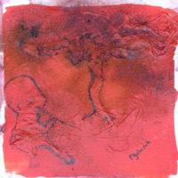 Les petites fissures #XX, Priscille Deborah artiste peintre expressionniste sensualiste