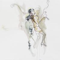Sombre Printemps #80, Priscille Deborah, artiste peintre expressionniste sensualiste