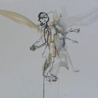 Sombre Printemps #81, Priscille Deborah, artiste peintre expressionniste sensualiste