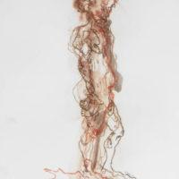 Zacharie #I, Priscille Deborah artiste peintre expressionniste sensualiste