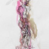 Zacharie #II, Priscille Deborah artiste peintre expressionniste sensualiste