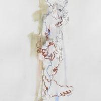 Zacharie #III, Priscille Deborah artiste peintre expressionniste sensualiste