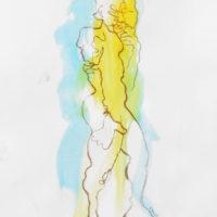 Zacharie #IV, Priscille Deborah artiste peintre expressionniste sensualiste
