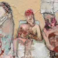 Connivence, Priscille Deborah, artiste peintre expressionniste sensualiste