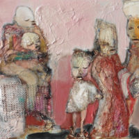 Transe sans danse, Priscille Deborah, artiste peintre expressionniste sensualiste