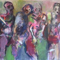 Les attracteurs étranges, Priscille Deborah, artiste peintre expressionniste sensualiste