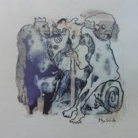 Métissage #XVIII, Priscille Deborah, artiste peintre expressionniste sensualiste