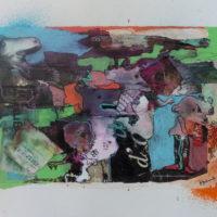 Les curieux #IX, Priscille Deborah, artiste peintre expressionniste sensualiste