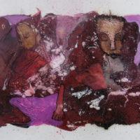Les curieux #V, Priscille Deborah, artiste peintre expressionniste sensualiste