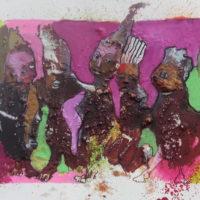Les curieux #VI, Priscille Deborah, artiste peintre expressionniste sensualiste