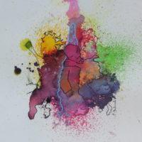Métissage #XXVI, Priscille Deborah, artiste peintre expressionniste sensualiste