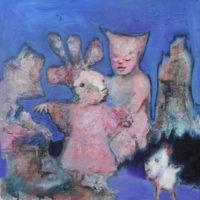 Le monde de Mademoiselle Zapata, Priscille Deborah, artiste peintre expressionniste sensualiste