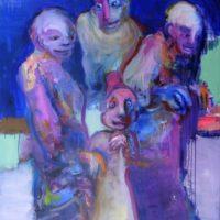 Les indomptables, Priscille Deborah, artiste peintre expressionniste sensualiste