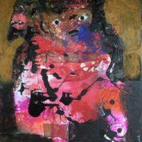 L'enfant pain d'épice, Priscille Deborah, artiste peintre expressionniste sensualiste