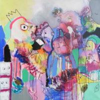 Conte à rebours #I, Priscille Deborah, artiste peintre expressionniste sensualiste