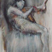Daphnis #III, Priscille Deborah, artiste plasticienne expressionniste sensualiste