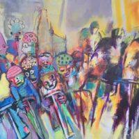La grande roue des possibles, Priscille Deborah, artiste plasticienne expressionniste sensualiste