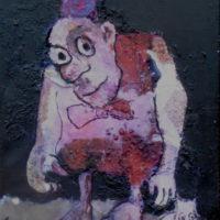 Le fugitif #III, Priscille Deborah, artiste plasticienne expressionniste sensualiste