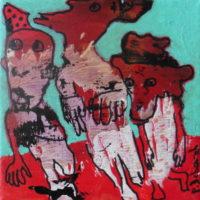 Les noctambules #I, Priscille Deborah, artiste plasticienne expressionniste sensualiste