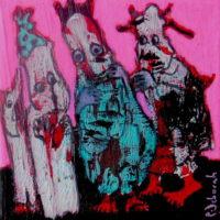 Les noctambules #III, Priscille Deborah, artiste plasticienne expressionniste sensualiste