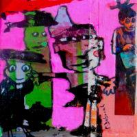 Les noctambules #VI, Priscille Deborah, artiste plasticienne expressionniste sensualiste