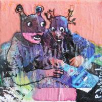 Les noctambules #VII, Priscille Deborah, artiste plasticienne expressionniste sensualiste