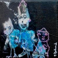 Les noctambules #XIII, Priscille Deborah, artiste plasticienne expressionniste sensualiste