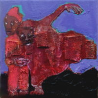 Chic et rebelle #III, Priscille Deborah, artiste plasticienne expressionniste sensualiste