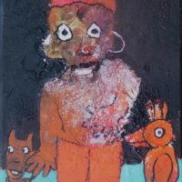 Les fugitifs#X, Priscille Deborah, artiste plasticienne expressionniste sensualiste