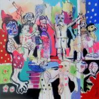 Les pas sages #I, Priscille Deborah, artiste plasticienne expressionniste sensualiste