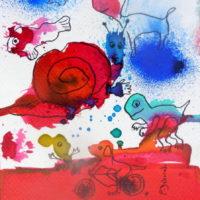 Métissage #31, Priscille Deborah, artiste plasticienne expressionniste sensualiste