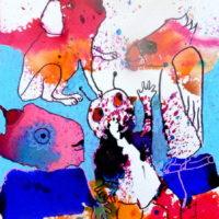 Métissage #32, Priscille Deborah, artiste plasticienne expressionniste sensualiste