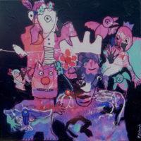 Oiseaux de paradis #II, Priscille Deborah, artiste plasticienne expressionniste sensualiste