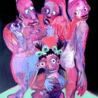 La petite sorcière, Priscille Deborah, artiste plasticienne expressionniste sensualiste