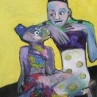 Le magicien, Priscille Deborah, artiste plasticienne expressionniste sensualiste
